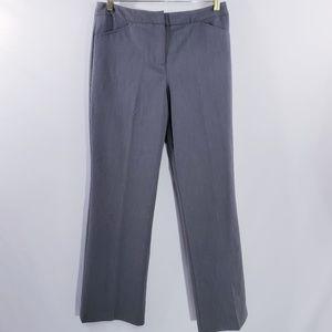 Nicole Miller New York Gray Wide Leg Trouser Dress